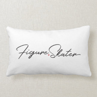 Figure Skater Lumbar Pillow