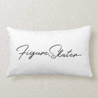 Figure Skater Lumbar Pillow