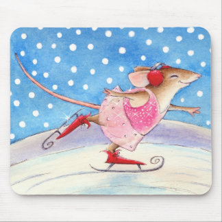 Figure Skater Mouse mouse pad