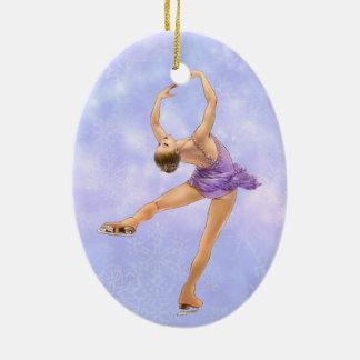 Figure Skater Ornament