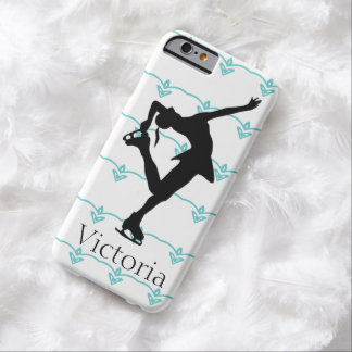 Figure Skater Personalized iphone 6 case Barely There iPhone 6 Case