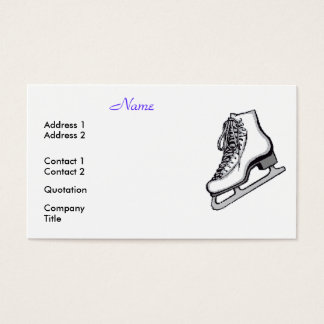 Figure Skaters Are Cool Business Card