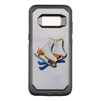 Figure Skates And Skates Guards With Your Name OtterBox Commuter Samsung Galaxy S8 Case