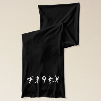 Figure Skating Black Scarf_Personalize It Scarf