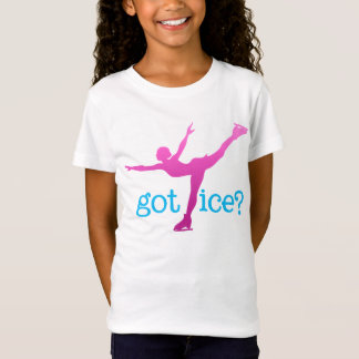 Figure Skating Colored Text with Skater - Got Ice T-Shirt