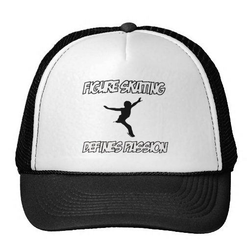 figure skating designs hat