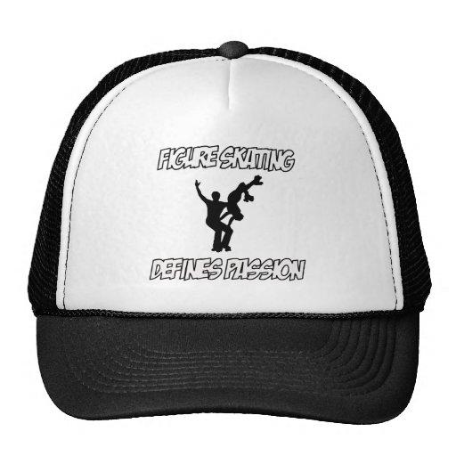figure skating designs trucker hats