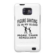 Figure Skating designs Samsung Galaxy S2 Case