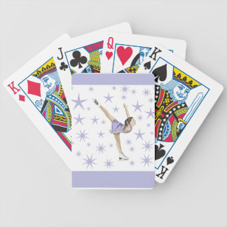 Figure Skating Giftware Bicycle Playing Cards