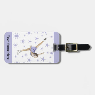 Figure Skating Giftware Luggage Tag