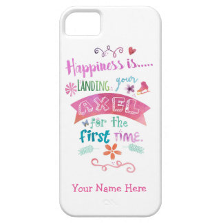 Figure Skating Ice Skate Phone Case iPhone 5 Cases