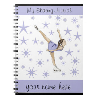 Figure Skating Journal Note Books