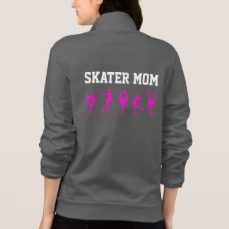 Figure Skating Mom Jacket/ Personalized Grey