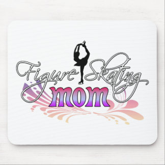 Figure Skating Mom Mouse Pad