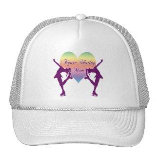 Figure Skating Mom- Soft Colors Hats