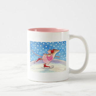Figure skating mousie mug