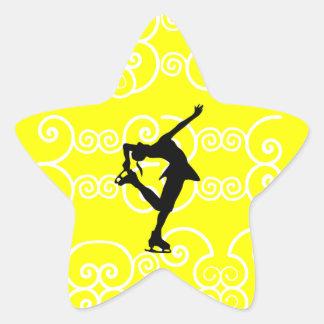 Figure Skating Star Stickers