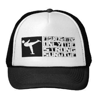 Figure Skating Survive Trucker Hat