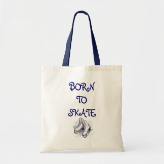 Figure Skating Tote Bag - Born To Skate