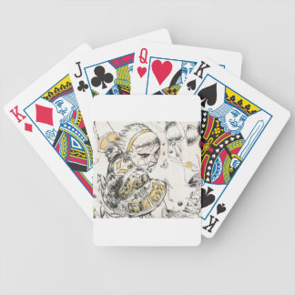 Figure Toy Bicycle Playing Cards