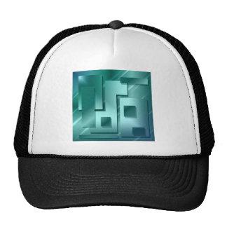 figures-blu trucker hat