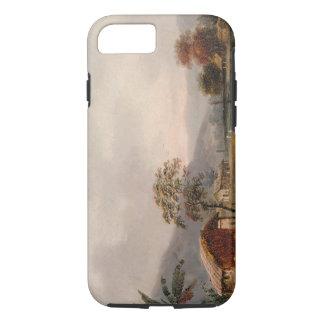 Figures Guiding a Sampan Round a Bend in a River, iPhone 7 Case