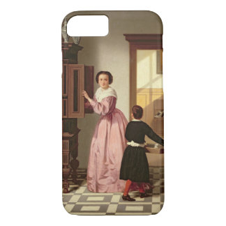 Figures in a Laundryroom, 1864 (oil on canvas) iPhone 7 Case