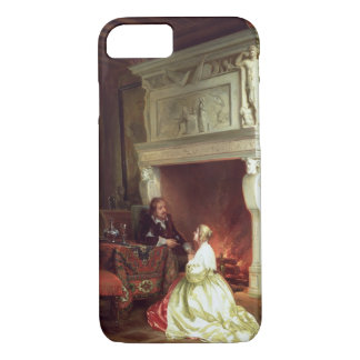 Figures in an Interior (oil on panel) iPhone 7 Case