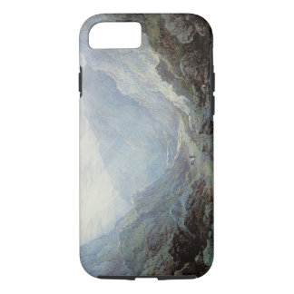 Figures Resting On The Pathway Through A Rocky Gor iPhone 7 Case