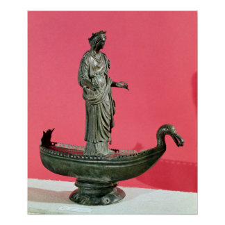 Figurine of the Goddess Sequana Poster
