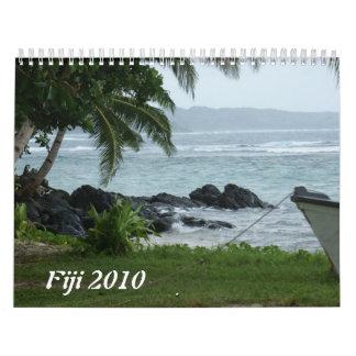 Fiji 2010 wall calendars