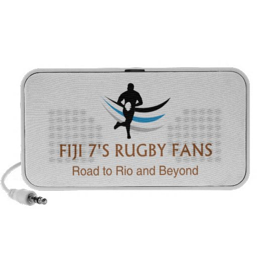 Fiji 7's Fans - Custom Portable Speaker