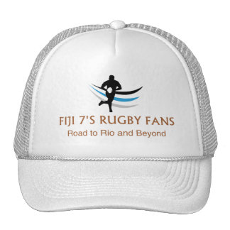 Fiji 7's Rugby Fans To Rio - Trucker Hat