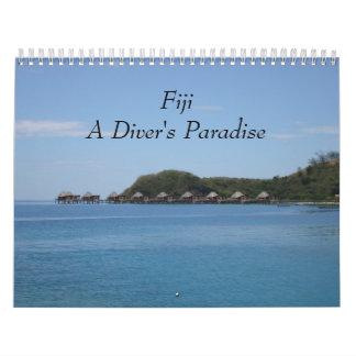 Fiji - A Diver's Paradise 2018 Wall Calendar