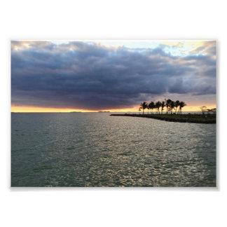 Fiji Beach at Dusk Photo Print