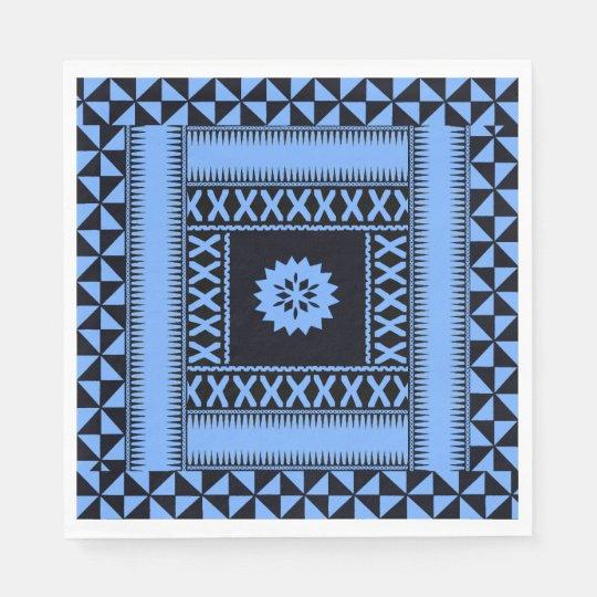 Fiji Blue Paper Napkins