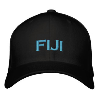 Fiji Cap Embroidered Baseball Cap