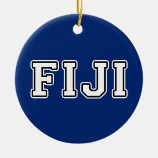 Fiji Ceramic Ornament