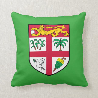Fiji Coat of Arms Throw pillow cushion