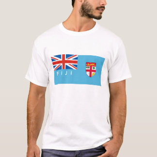 fiji country flag text name T-Shirt