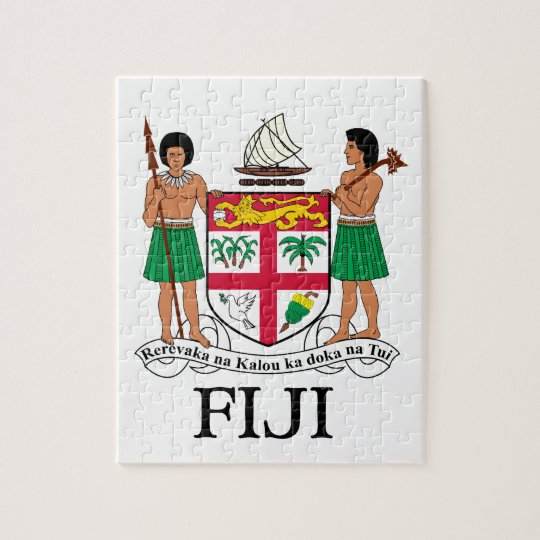 FIJI - emblem / flag / coat of arms / symbol Jigsaw Puzzle