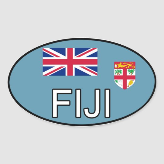 Fiji Euro Sticker