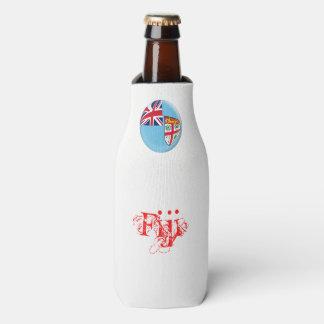 Fiji Fijian Flag Bottle Cooler