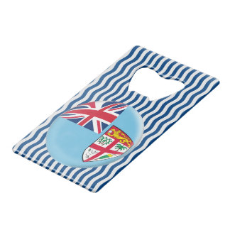 Fiji Fijian Flag Credit Card Bottle Opener