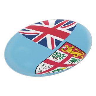 Fiji Fijian Flag Plate
