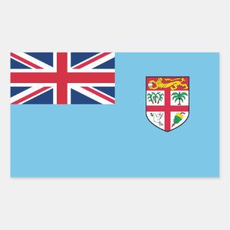 Fiji/Fijian Flag Sticker