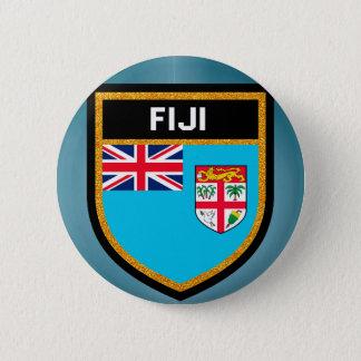 Fiji Flag 2 Inch Round Button