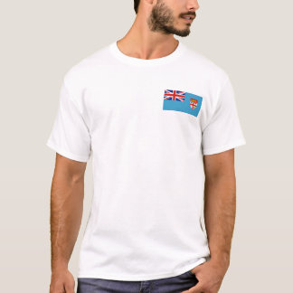 Fiji Flag and Map T-Shirt