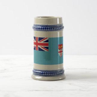 Fiji Flag Beer Stein