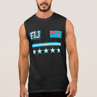 Fiji Flag Sleeveless Shirt